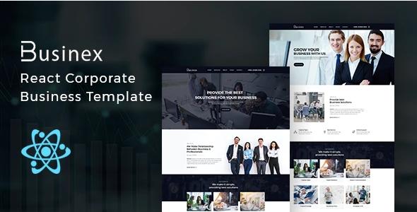 Businex Corporate Business React Template