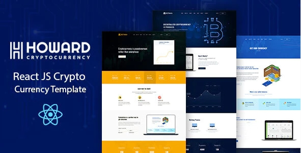 Howard Crypto Currency React Template