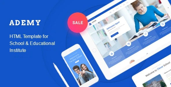 Ademy Education HTML Template