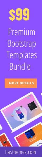 bootstrap template bundle