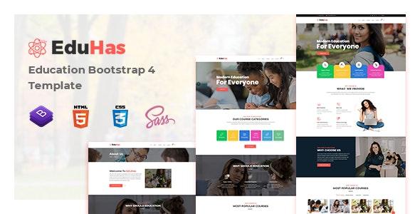 Eduhas Education HTML Template