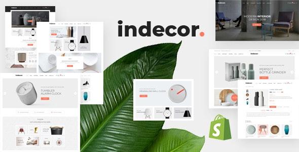 Furniture eCommerce Shopify Theme Indecor
