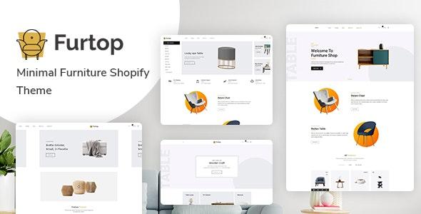 Furtop Minimal Furniture Shopify Theme