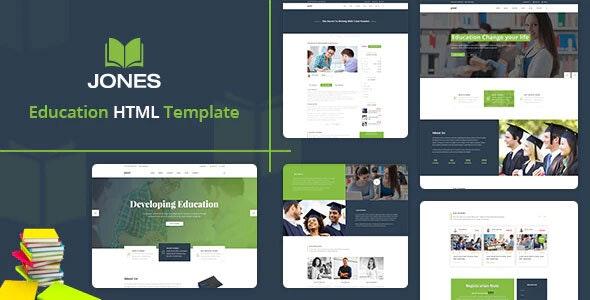 Jones Education HTML Template