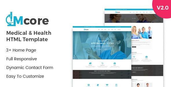 Medicore Medical & Health HTML Template