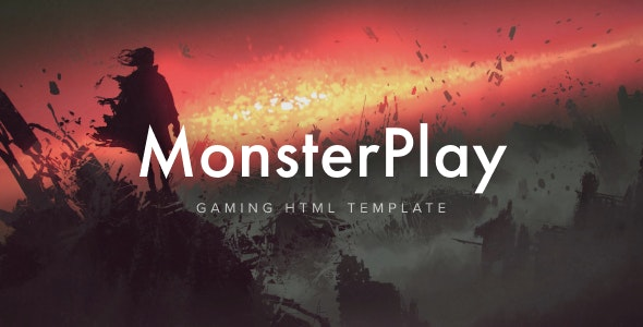 MonsterPlay eSports and Gaming HTML Template