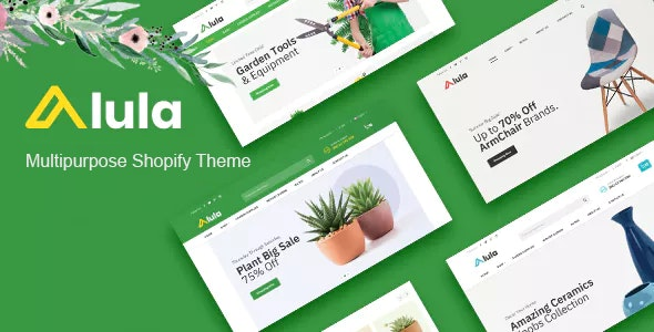 Multipurpose Responsive Shopify Theme Alula
