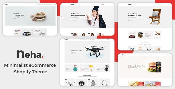 Multipurpose Responsive Shopify Theme Neha