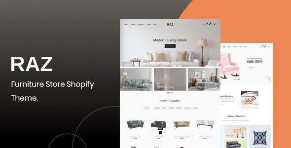 Raz Furniture Shopify Theme