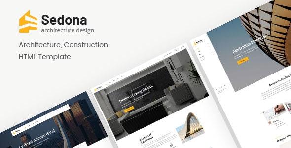 Sedona Architecture Construction HTML Template