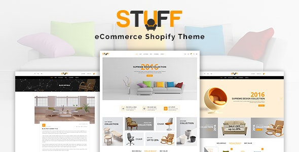 Stuff Furniture Responsive Shopify Theme