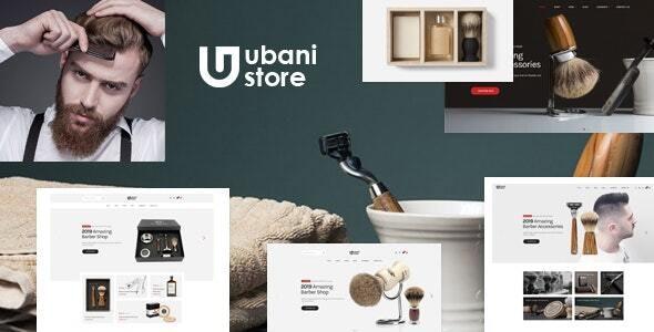 Ubani Barber Shop Bootstrap 5 Template
