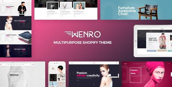 Wenro Multipurpose Shopify Theme