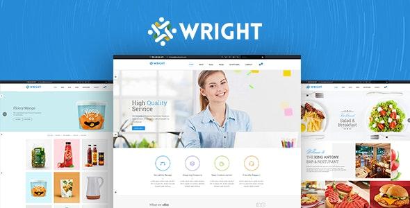 Wright MultiPurpose HTML5 Template