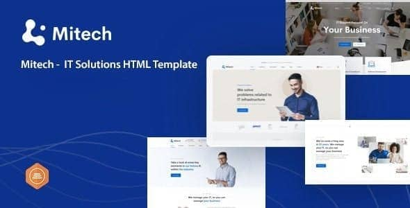 mitech it solutions and services company html template