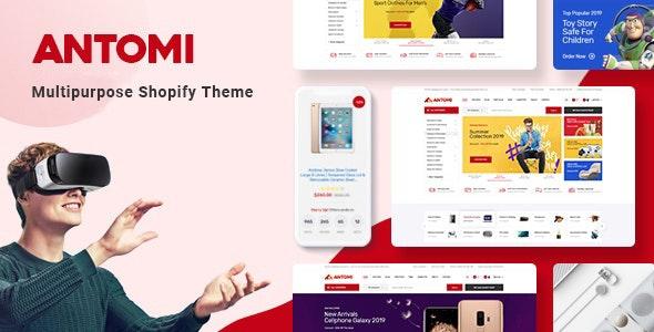 antomi multipurpose shopify theme