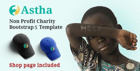 Charity HTML5 Template Astha