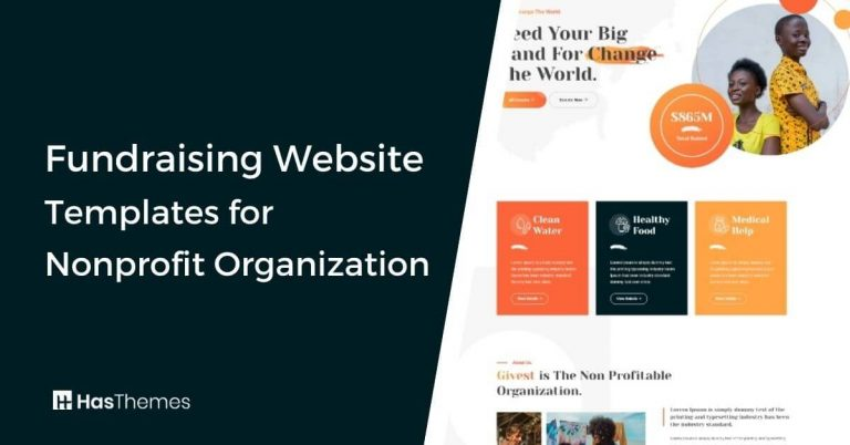 Fundraising Website Templates