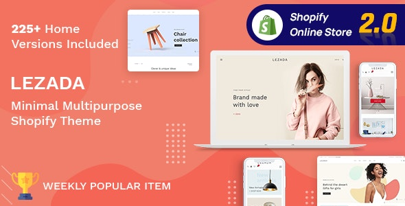 lezada multipurpose shopify theme