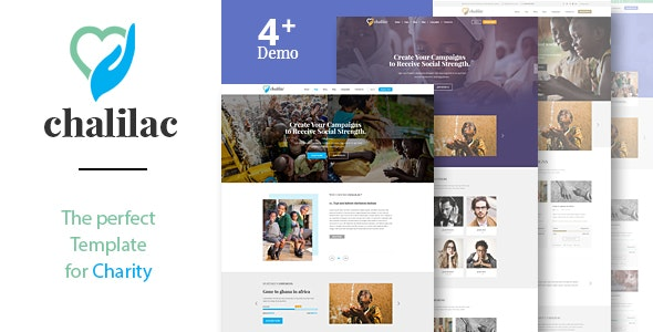 Nonprofit Charity HTML Template Chalilac