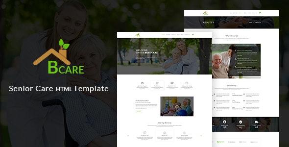 Senior Care HTML Template Bcare