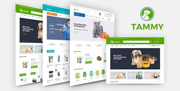tammy  pet care shopify theme