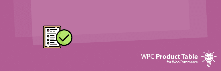Product Table for WooCommerce WPC