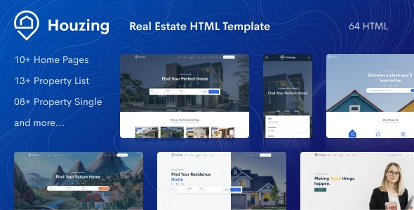 houzing real estate html template