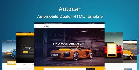 auto car car dealer html template