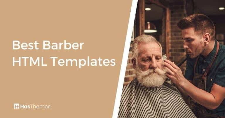 Barber HTML Templates - Build Your Salon Website