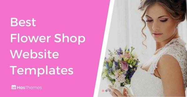 flower shop website templates
