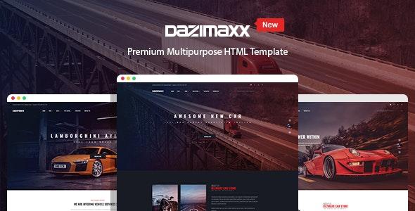 car dealer html template dazimaxx