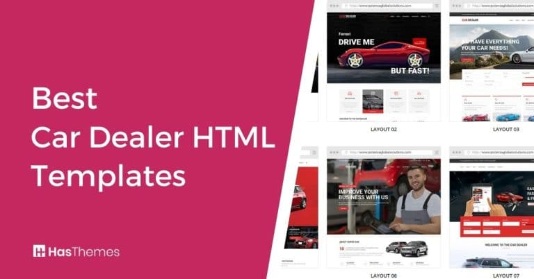 car dealer html templates