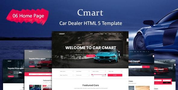 cmart car dealer html template