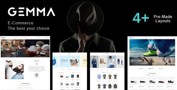 gemma fashion barber shop html template