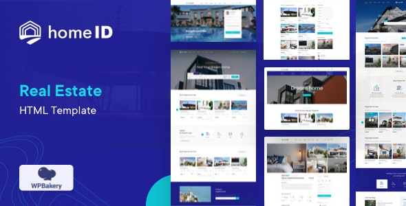 homeid real estate html template