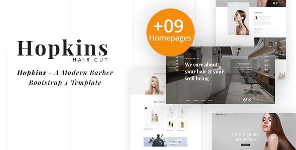hopkins barber shop & hair salon html