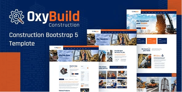House Builder Website Template HTML Version - OxyBuild