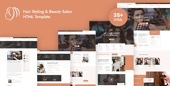 mremot hair salon & barber shops html template
