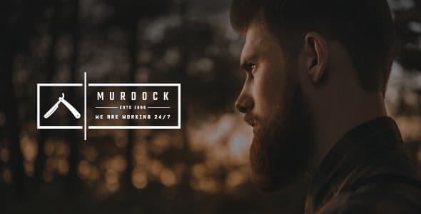 murdock barbershop & hair salon html template