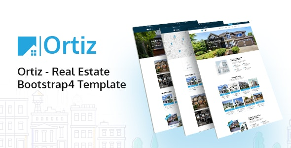 ortiz real estate html5 template