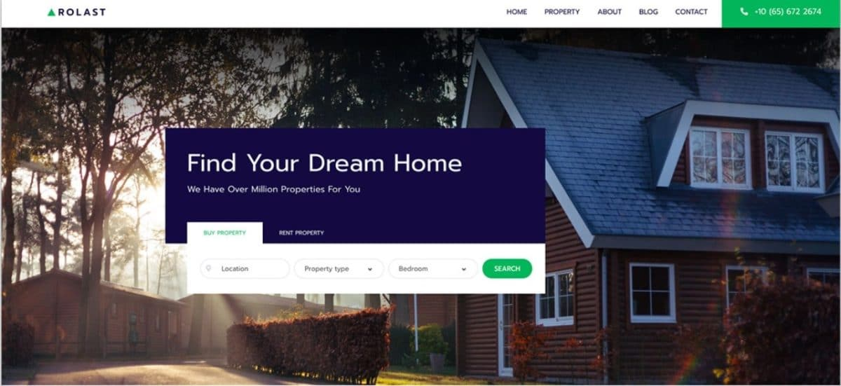 Rolast - Professional Property Listing Website Template