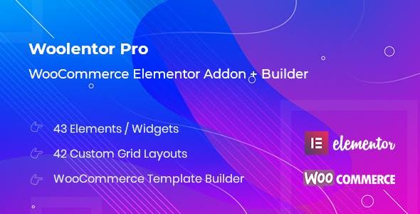 WooLentor – WooCommerce Page Builder Elementor Addons