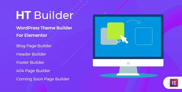 HT Builder - WordPress Theme Builder for Elementor