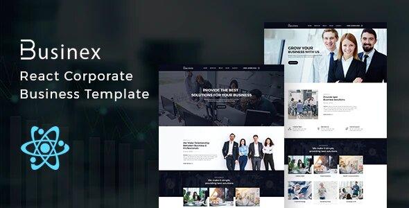 Businex – React Corporate Business Template