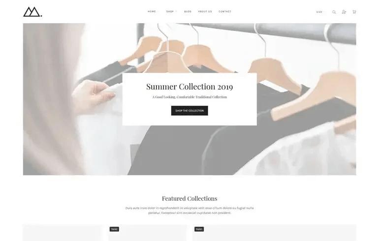 Mira - Minimalist Shopify Theme