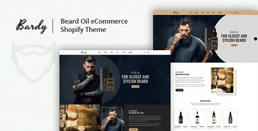 Bardy - Beard Oil Shopify Theme