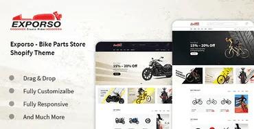 Exporso - Bike Parts Store Shopify Theme