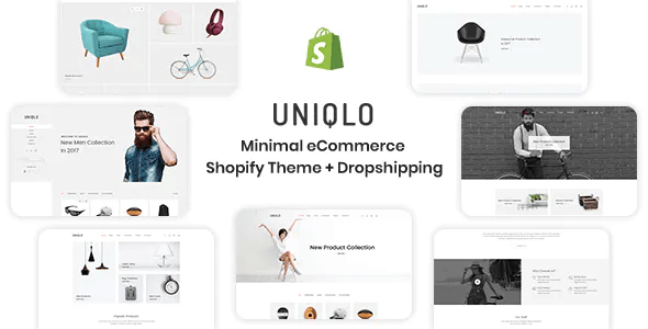 Uniqlo - Minimalist Shopify Theme