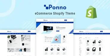 Ponno - Electronics Shopify Theme